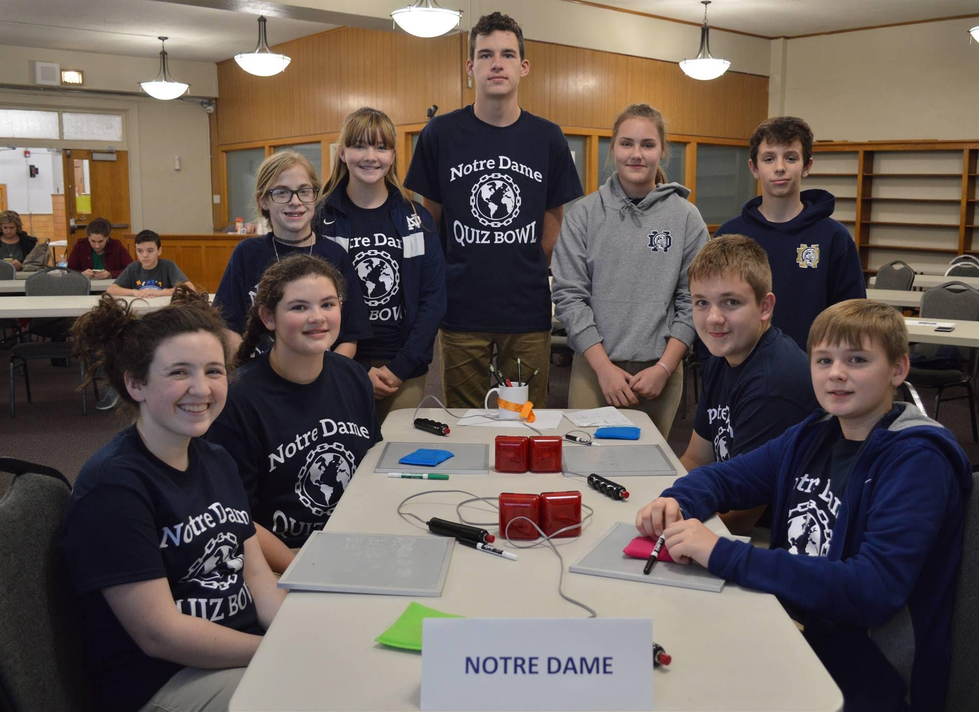 Quiz Bowl Junior High & Middle School