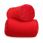 Living Health Products MBR-002-02 Microbead Roll Mooshi Bolster Squish - Red - Microbead roll Mooshi Bolster Squish