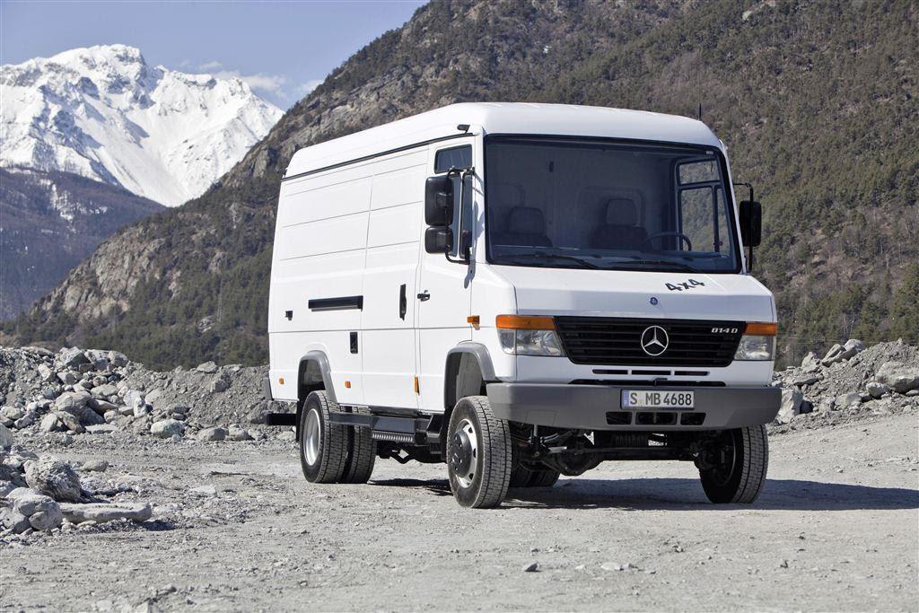 MERCEDES BENZ Vario Van 814 D technical data. Fuel tank ...