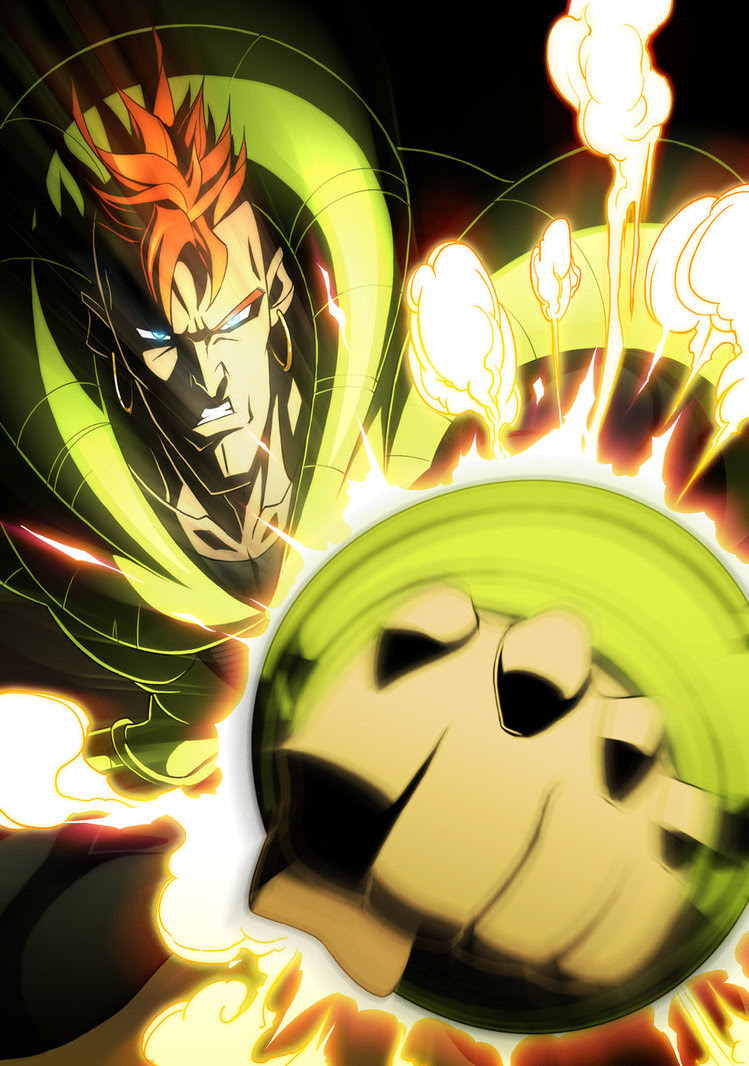 Android 16 Androids 17 18 21 And 16 Fan Art 28047782 Fanpop