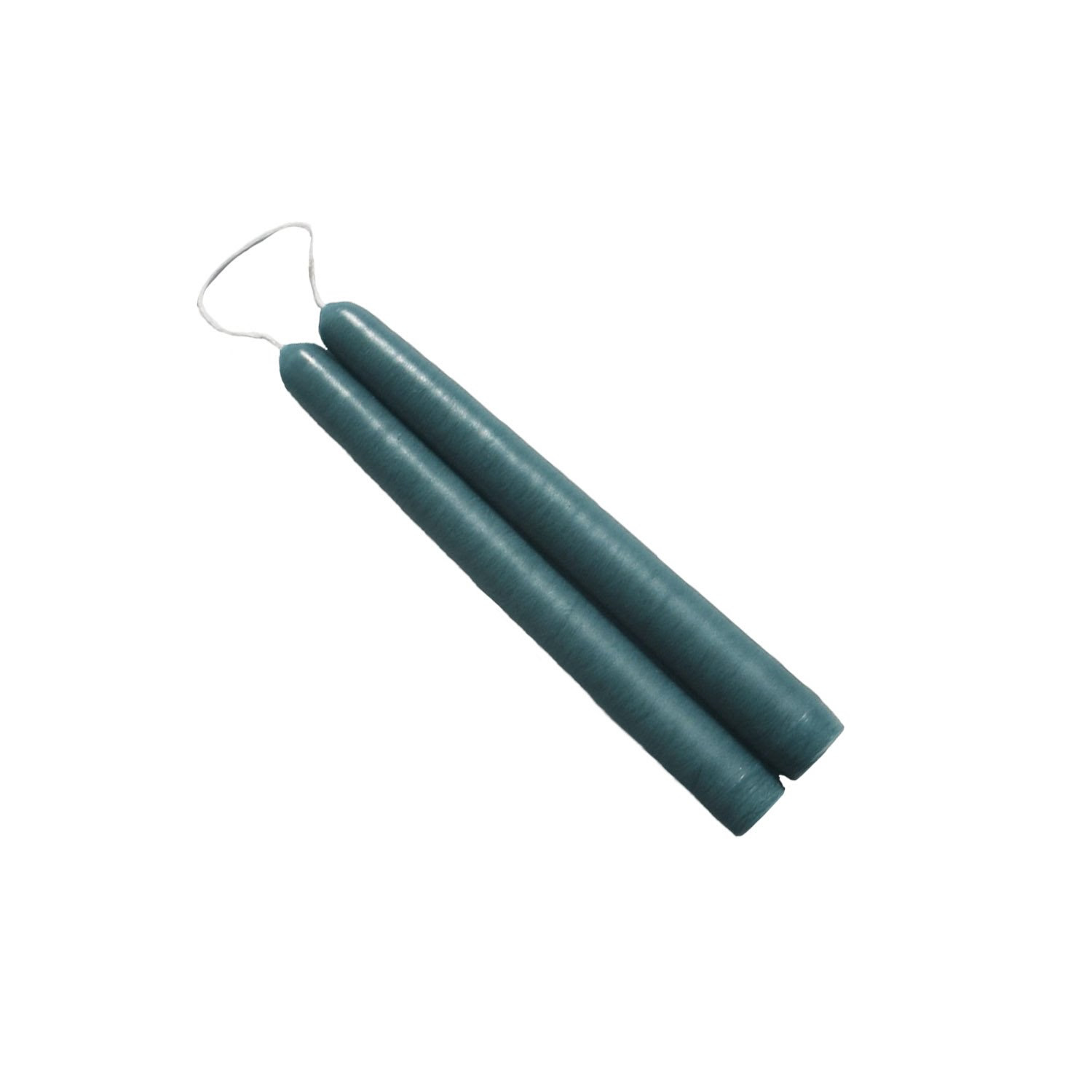 6 inch Colonial Blue Mole Hollow Taper Candles - The Weed ...