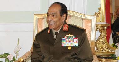 المشير حسين طنطاوى القائد العام رئيس المجلس الأعلى للقوات المسلحة