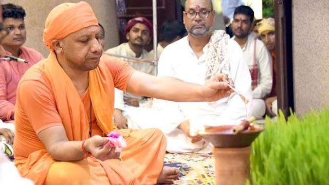 गोरखनाथ मंदिर में दशहरा के कार्यक्रमों में भाग लेंगे CM योगी, 25 अक्टूबर को होगा कुंवारी कन्या भोज