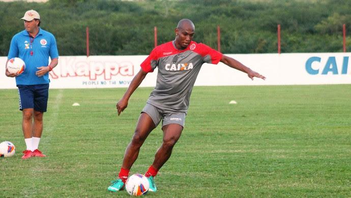 Flávio Boaventura - zagueiro do América-RN (Foto: Canindé Pereira/Divulgação)