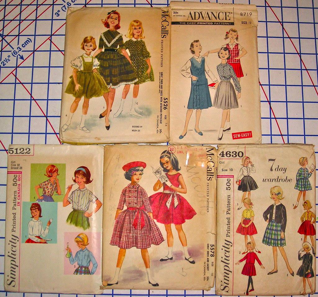 Vintage Girls' Patterns