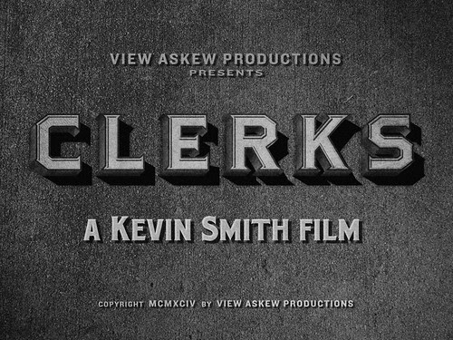 """Movie Titles - """"Clerks"""" by metropolismoloch"""