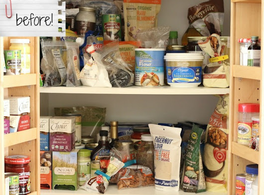 Pantry Makeover Giveaway from MightyNest