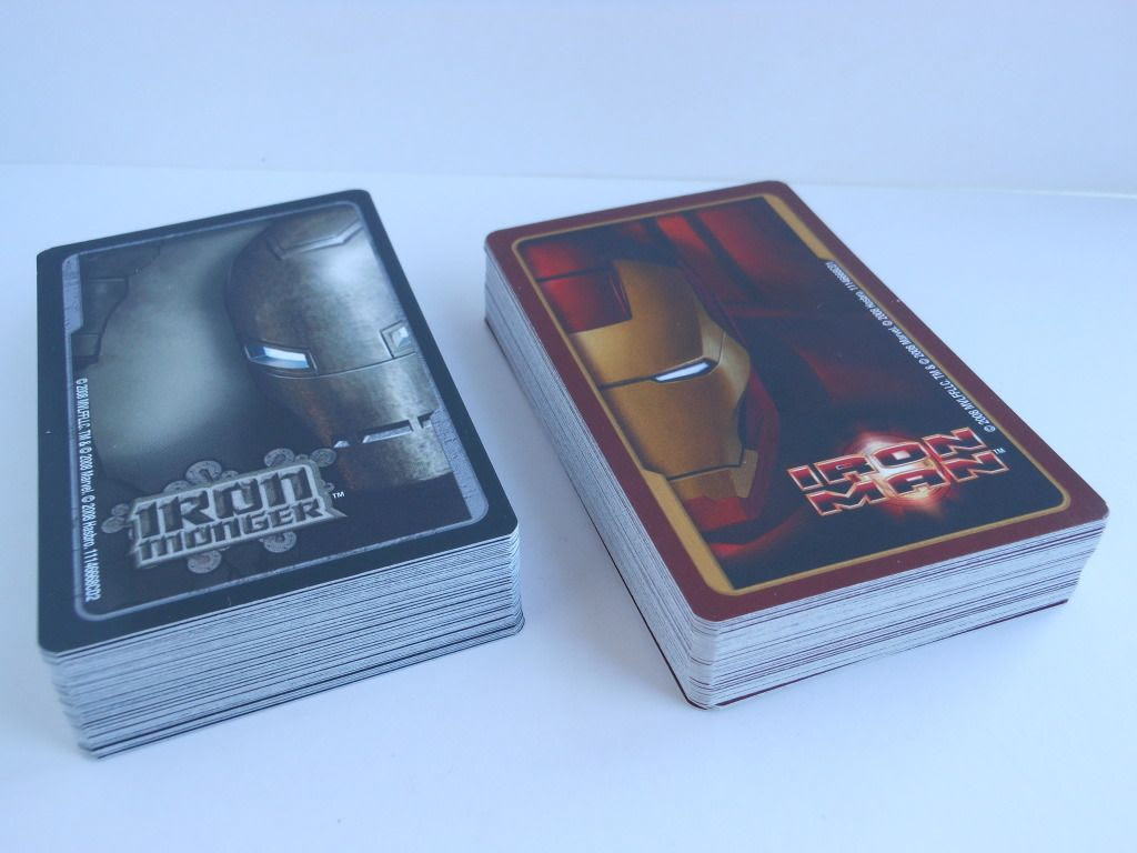 Iron Man Battling Card Game card decks