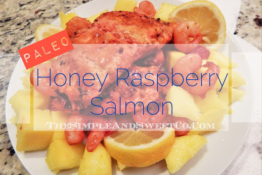 Honey Raspberry Salmon