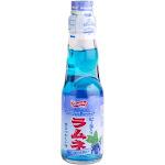 Shirakiku Ramune Soda Blueberry 200ml