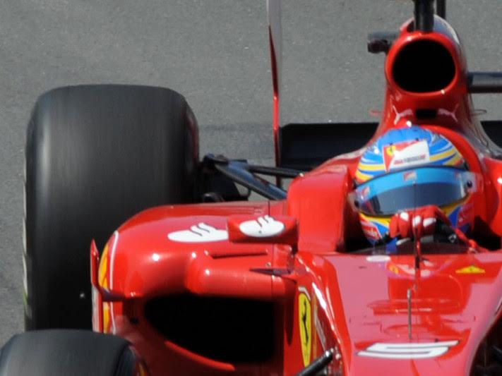 La nuova sospensione posteriore della Ferrari 150° Italia - GP Valencia