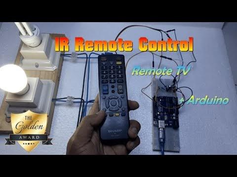 Kendali Nyala Lampu dengan Remote TV dan Arduino