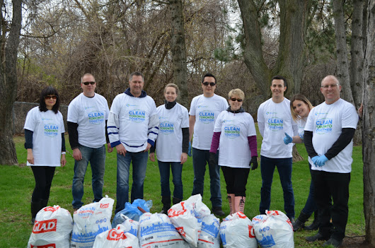 SmartPrint Participates in Corporate 20-Minute Makeover Spring Cleanup - SmartPrint
