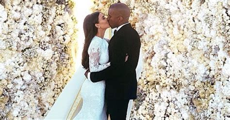 Kim Kardashian and Kanye West Wedding Facts   POPSUGAR