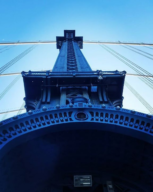 #manhattanbridge on a beautiful day. | NYC Photo Safari Out and About | Pinterest