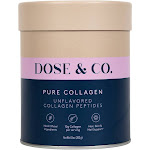 DOSE&CO Collagen Peptides - Unflavoured - 10oz
