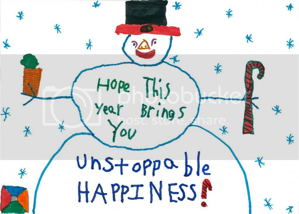 Unstoppable Happiness Holiday Card