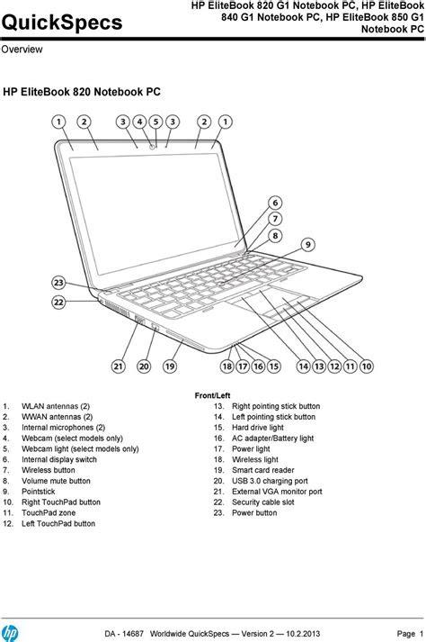 Hp Elitebook 820 Manual