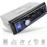 Boss 611UAB Single Din USB/SD AUX Bluetooth Multimedia Radio Car Stereo Receiver by VM Express