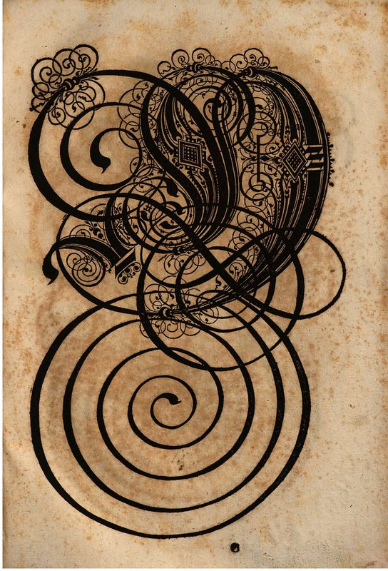 Paulus Franck - 'Schatzkammer Allerhand Versalien Lateinisch vnnd Teutsch', 1601 alphabet k