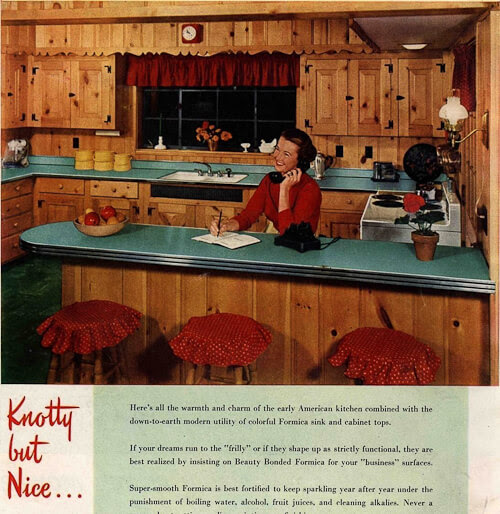 1950s interior design and decorating style -- 7 major trends ...