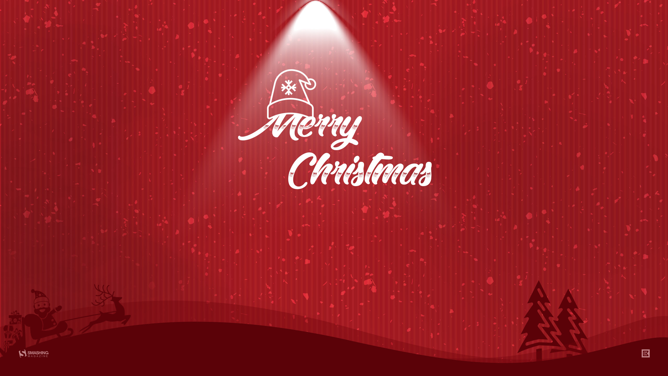 20 Beautiful Christmas Hd Desktop Wallpapers 2560x1440 High Quality