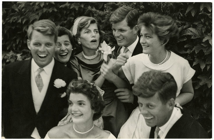 John G Morris auction: Jackie and the Kennedys, wedding day in Newport