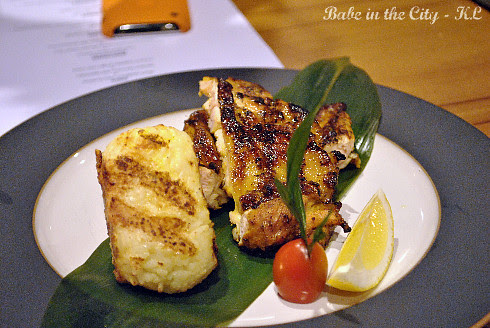 Grilled Lemongrass Chicken with Roasted Rice (RM20)