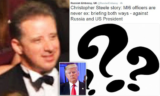 Ex-MI6 spy in hiding over Trump dirty dossier made £1m in two years