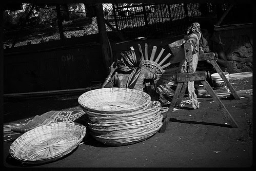 Working Mothers On The Street ..Weaving Hope In Defeat by firoze shakir photographerno1