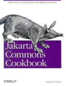 Jakarta Commons Cookbook cover