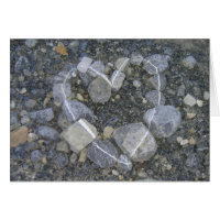Love is Rock Solid Greeting Card