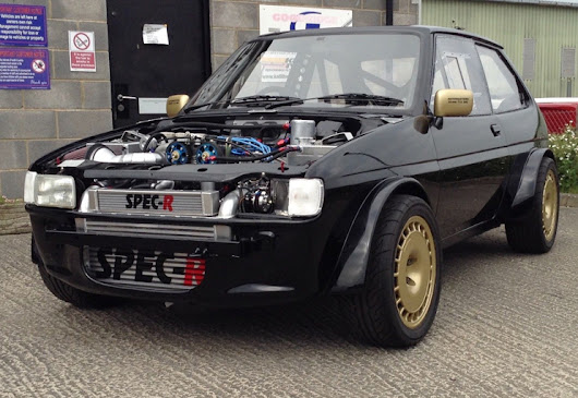 Ford Fiesta XR2 4wd Cosworth - Piston Juice