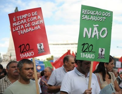 Para Carvalho da Silva, o desafio primordial para 2011 deverá ser a «na criação de emprego com desenvolvimento do país, voltado para as pessoas e não para a concentração da riqueza em alguns». Foto de Paulete Matos.