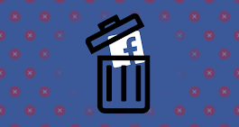 Here is how to delete Facebook