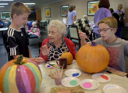 Seniors and sixth graders form special bond