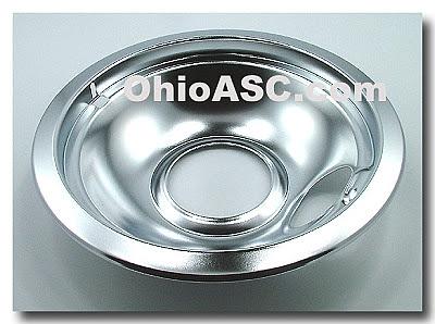 W10196405 Chrome Range Surface Drip Bowl Kitchen Design