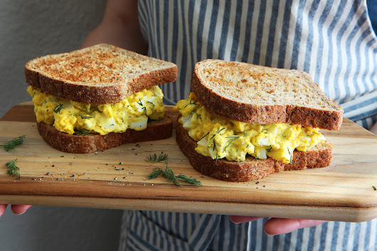 Eli Zabar's Egg Salad Sandwich Recipe