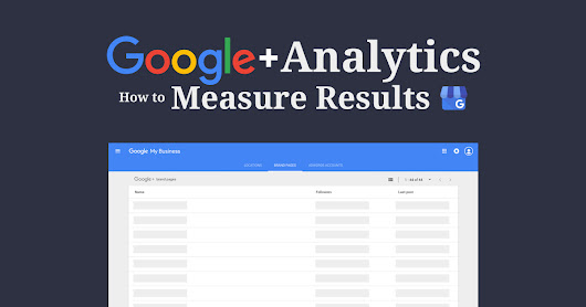 Google Plus Analytics: How to Measure Your Results - Steady Demand