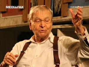Actorul Radu Beligan (Imagine: Mediafax Foto)