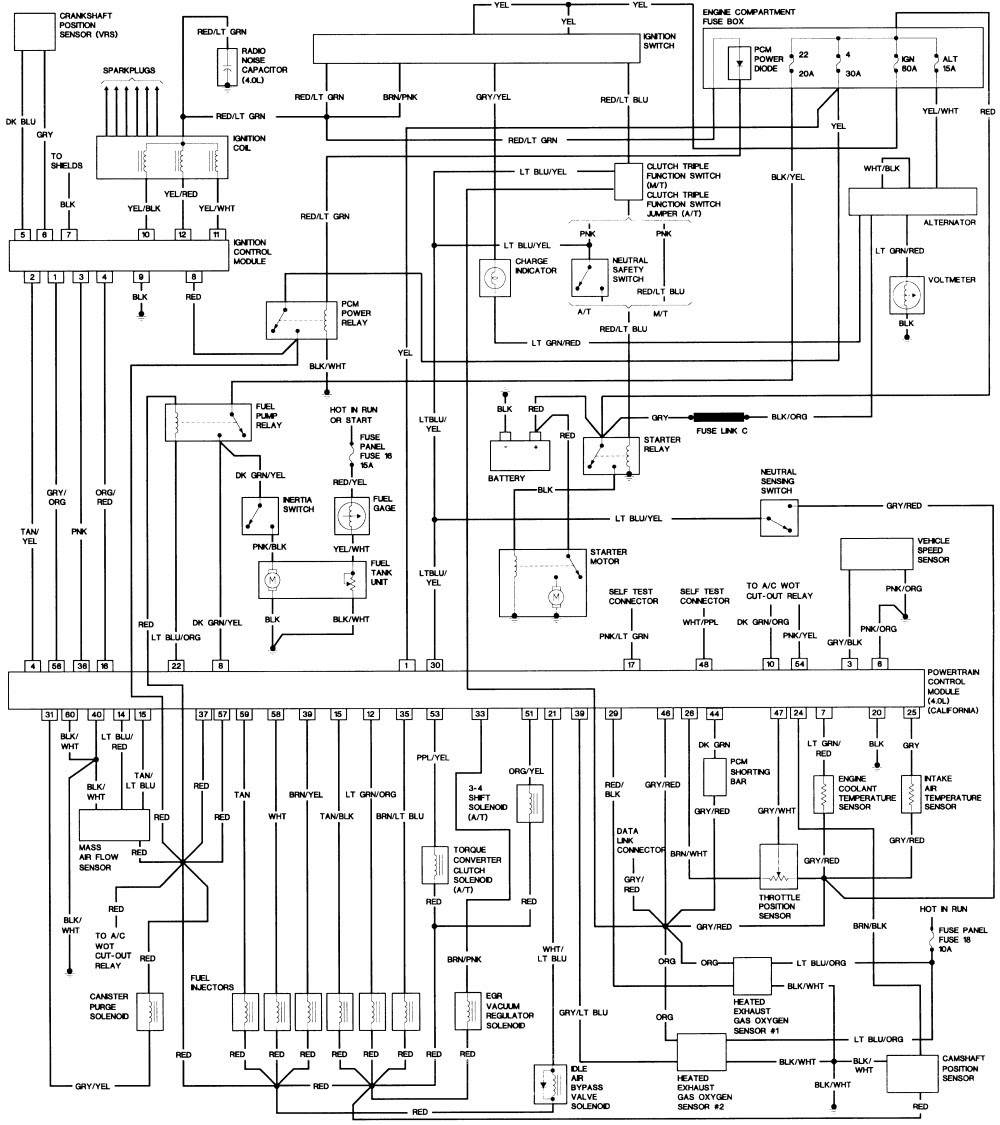 Wiring Diagram PDF: 2002 Ford Explorer Wiring Harness