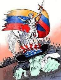 Caricatura    a favor de la victoria por parte de los seguidores de Chávez en el    referéndum de 2004.