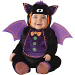 BABY BAT COSTUME 12-18 MON - 89630 - Black