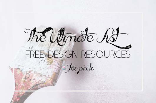 50 Free Design Resources for Pixlr