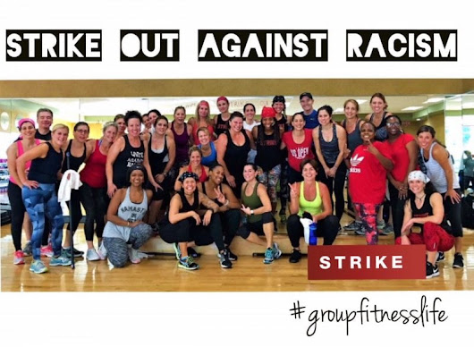 Strike Against Racism Group Fitness Class Lifetime AThletic Atlanta
