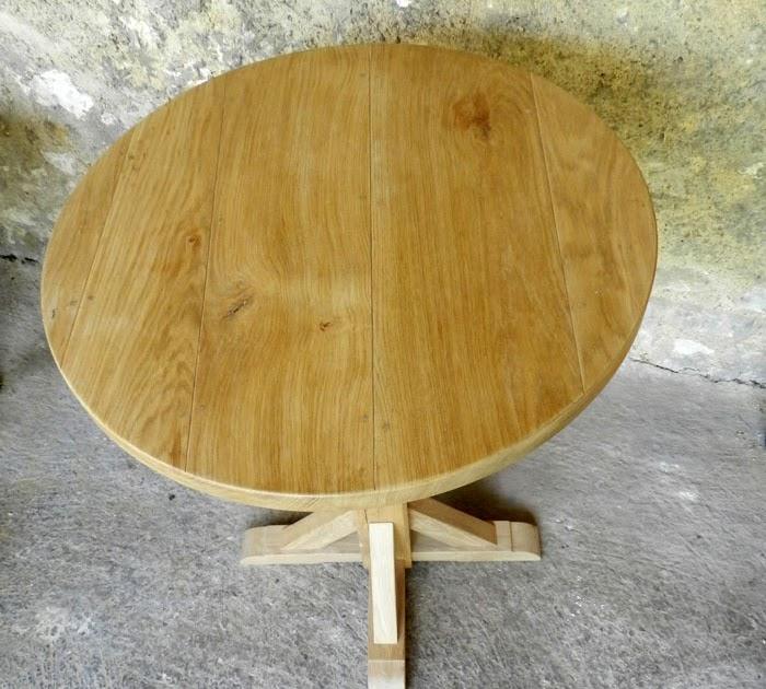 Table ronde ch ne huile acheter sur internet table ronde for Acheter table ronde