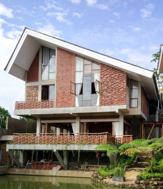 Rumah Minimalis Batu Bata Merah   Ide Rumah Minimalis
