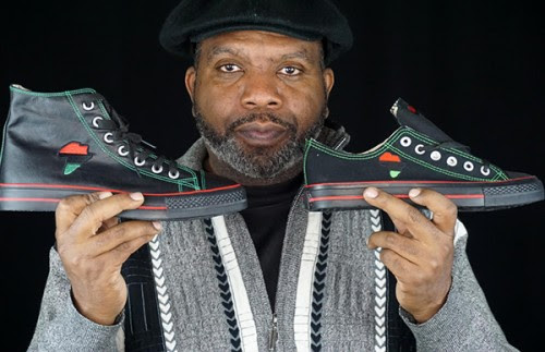 Black Entrepreneur Launches Historic First African Pride Sneaker in the History of America