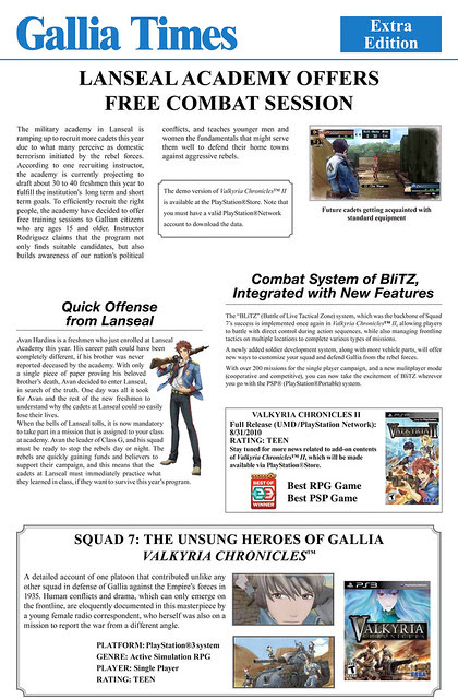 Gallia Times, first issue!
