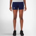 """Russell Athletic Women's 3"""" Low Rise Tight Shorts"""